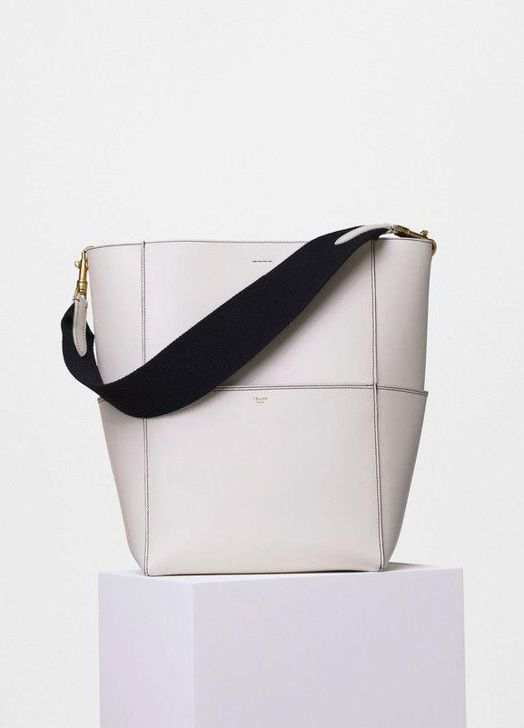 Sangle Seau Bag in Double Stitching Calfskin - セリーヌについて