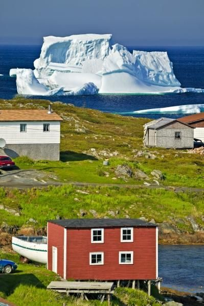 Newfoundland, Canada -- where the cruise ships are disguised as icebergs.... :) ... can't wait to see one..but not right up close, thank you very much.