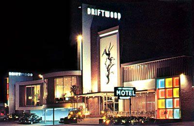 Driftwood Motel circa 1958