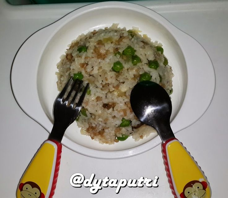 THE DYTAPUTRI: Resep MPASI : Beef, Peas and Celery Butter Rice (1...