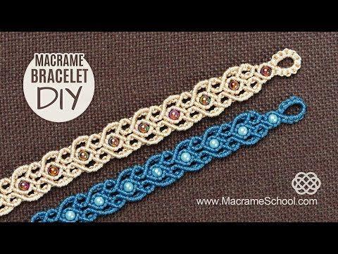 Stylized Hearts Arabic Motif Macramé Bracelet Tutorial. Stylized Hearts, Arabic Motif, Macramé Bracelet Tutorial by Macrame School. Please watch more Macrame Bracelets and jewelry tutorials here: ... Thank you! ???? More Macrame D