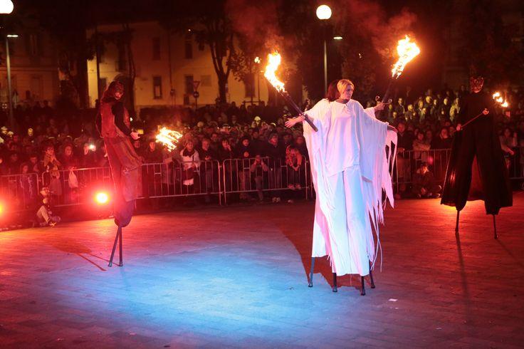 Finale dello spettacolo I Cinque Sensi.
