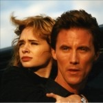 """Adrienne Shelly with Robert John Burke in her debut film, Hal Hartley's """"The Unbelievable Truth"""""""
