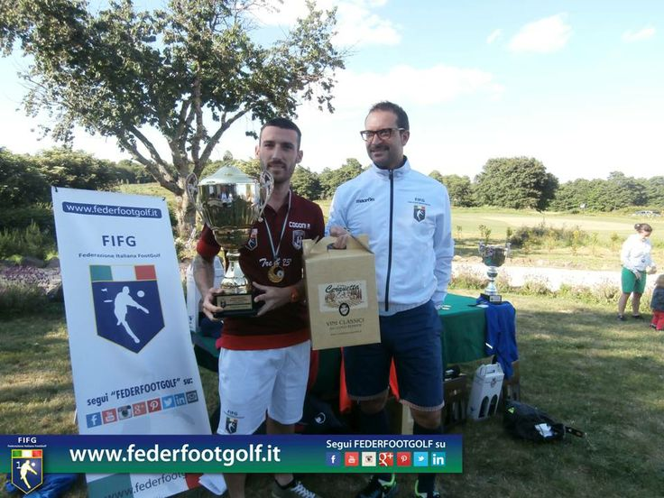 Cogoni è il Re del 2°Major 2014 di Footgolf ad Acquapendente (VT)
