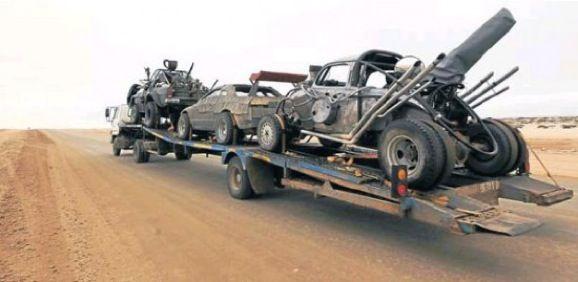 New 'Mad Max: Fury Road' movie vehicle photos