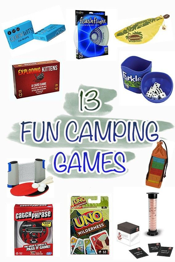 Check out our list of 13 fun camping games that can be played in your tent, car, or around the fire. They are all packable, lightweight, and are under $25.