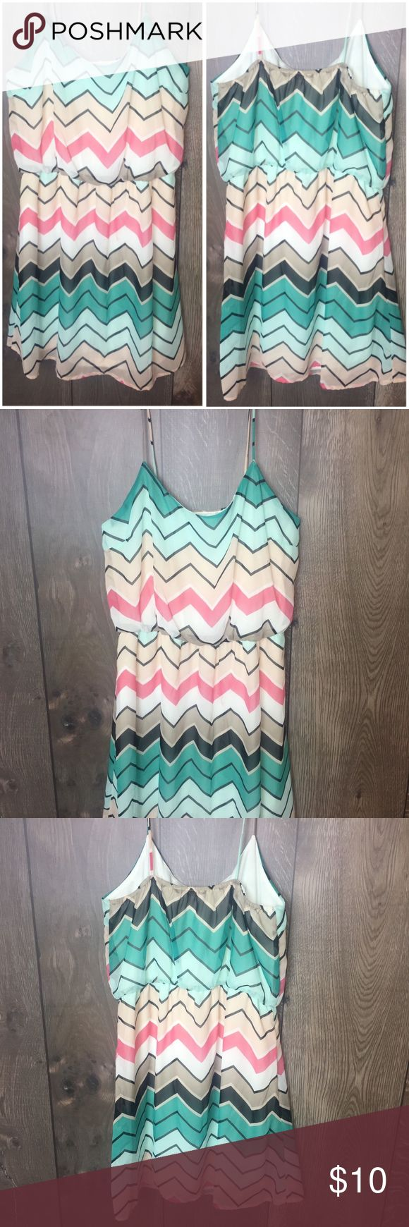 Charlotte Russe Chevron Print Sz M Strapless Dress Charlotte Russe Chevron Print Sz M Strapless Dress | K1 Gently used  See photos for details Charlotte Russe Dresses Mini