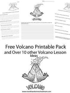 how to build your own volcano