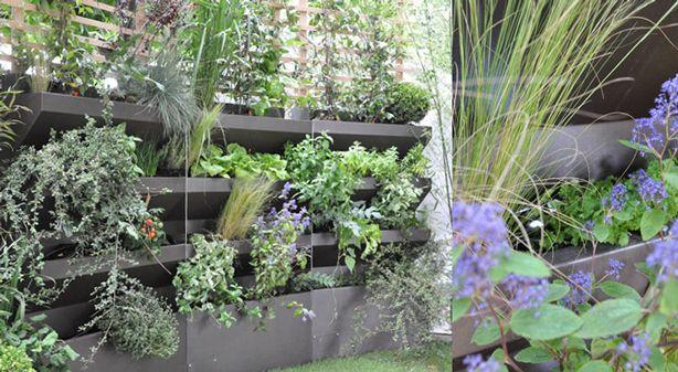 Vertical Vegetable Garden Rises in Style - Urban Gardens