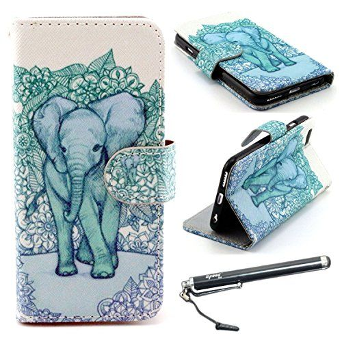 "6 Plus, iPhone 6s Plus Case, iPhone 6 Plus 5.5"" Case, Speedtek Elephant Pattern Premium PU Leather Wallet Flip Protective Skin Case with Magnetic Closure for Apple iPhone 6 Plus/6s 5.5"" (with Credit Card/ID Card Slot) UrSpeedtekLive http://www.amazon.com/dp/B00NXDASZS/ref=cm_sw_r_pi_dp_t-Bcwb1SC457Q"