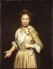 Giacomo Ceruti, A Woman with a Dog, 1740s, oil on canvas, 96.5 x 72.3 cm, Metropolitan Museum of Art, New York
