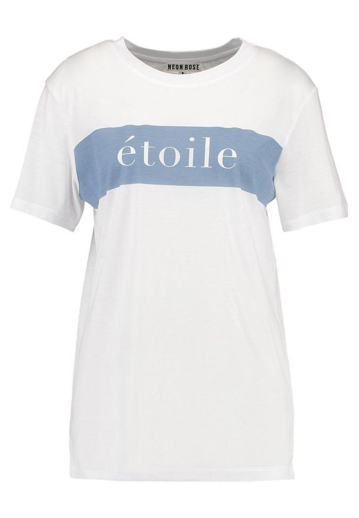 Neon Rose ETOILE TEE - Camiseta print - white - Zalando.es