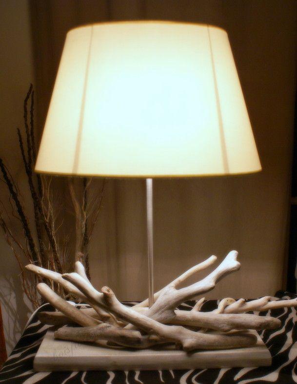 Des bois flottés qui m'ont inspiré pour créer dans la simplicité.