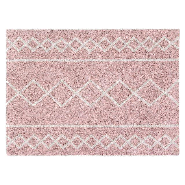 Waschbarer Kinderteppich Oasis Altrosa Creme 120x160cm Teppich Waschbar Babyzimmer Teppich Und Kinderteppiche