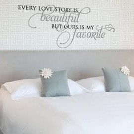 I love these sayings...maybe one day. one over our bed!: Wall Art, Houses, Beds, Master Bedrooms, Bedrooms Wall Decals, Sayings Maybe, Bedrooms Decals, Bedrooms Wall Quotes, Bedrooms Ideas