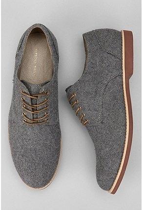 Hawkings McGill Felt Buck Shoe...these definitely rock...