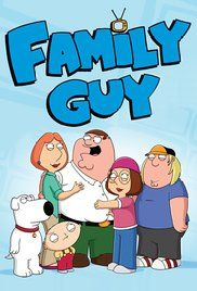 Family Guy (1999) is a very funny prime time cartoon from Seth MacFarlane. Like the Flintstones, it is about a fat guy with a redheaded wife. But the show stealers are the baby genius Stewie and the talking dog Brian.