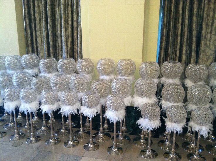The Bride Loves Bling And Feathers So These Would Be Perfect For Adding Some Ambiance In Swan Dive