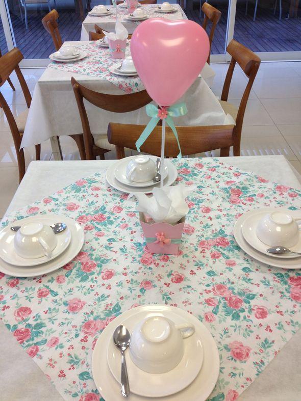 Decoração // Chá de Casa Nova // Chá de Panelas // Chá de Cozinha // Mesa para Convidados // Lembrancinha