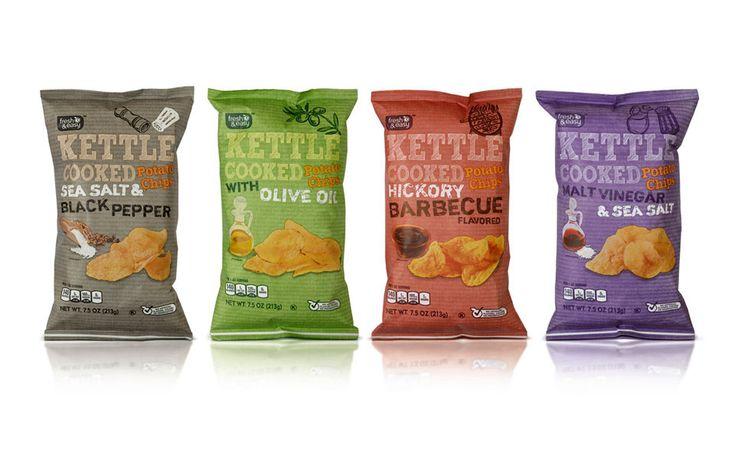 Fresh & Easy Kettle Crisps | By P&W Design Consultants