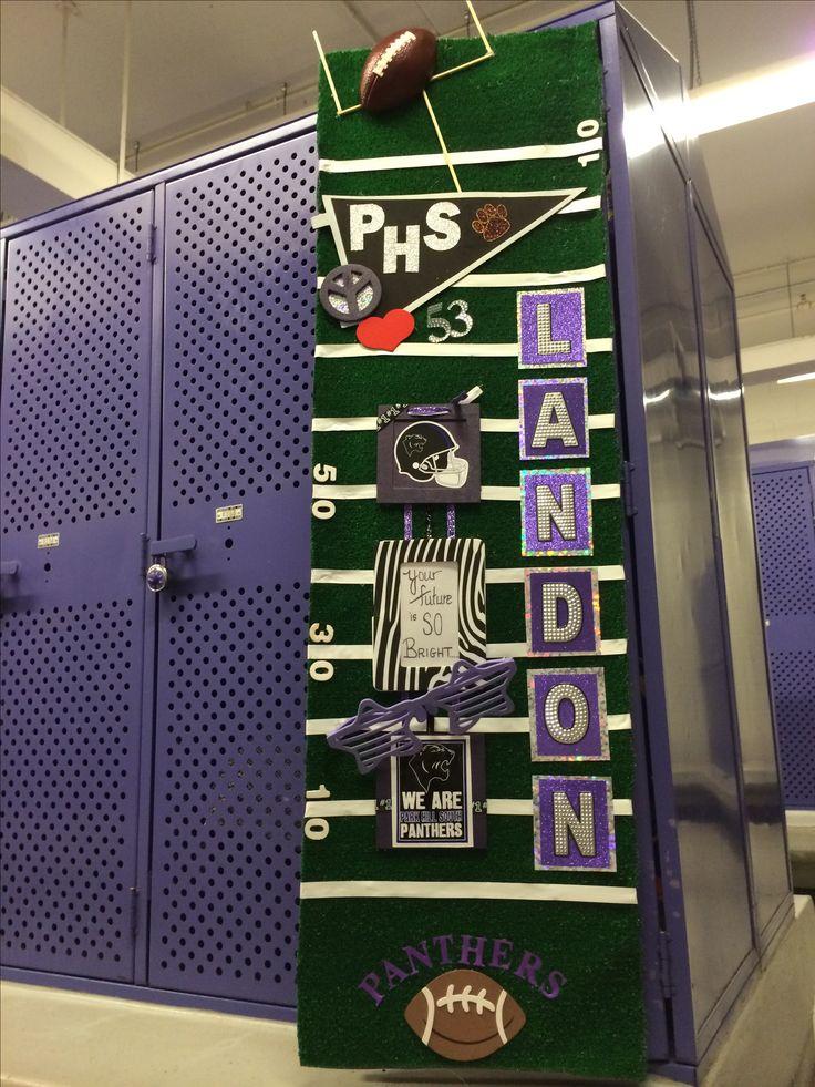 Football locker poster. Helmet Night.