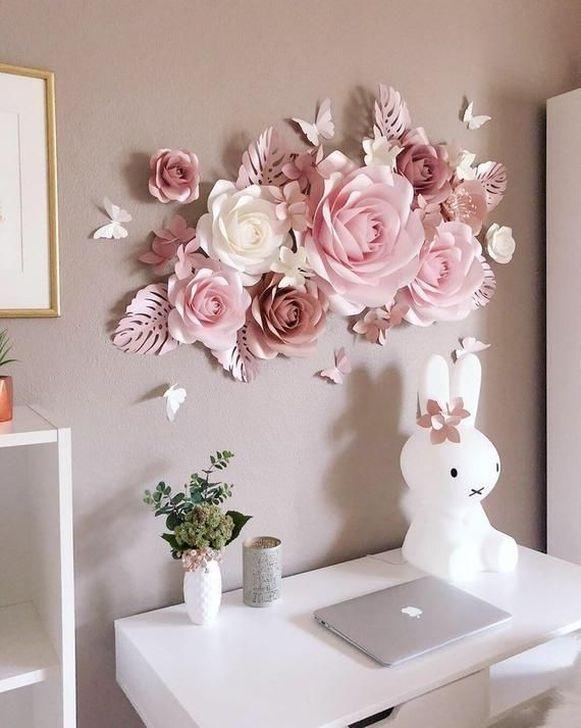 96 Best Diy Paper Flowers Images In 2020 Paper Flowers Diy Paper Flowers Diy Paper In 2020 Paper Flower Wall Decor Paper Flower Decor Diy Flower Wall