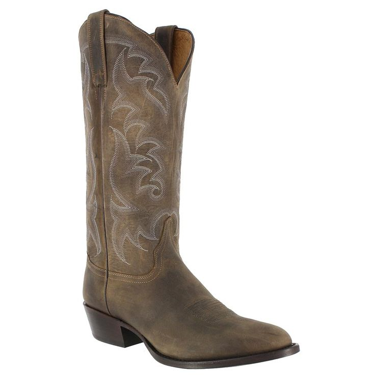 Cody James® Men's Distressed Round Toe Western Boots