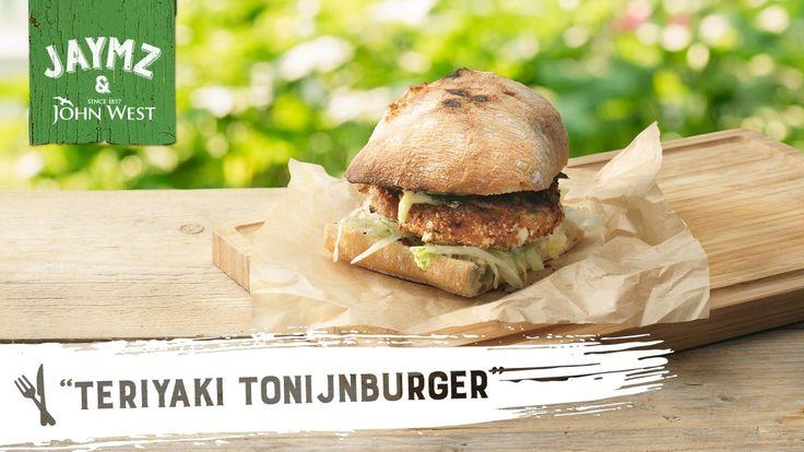 Jaymz: Teriyaki tonijnburger, gevonden op John West