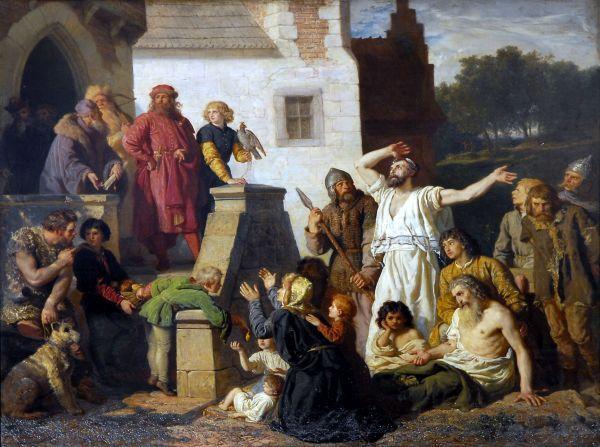 Przyjęcie Żydów - Wojciech Gerson