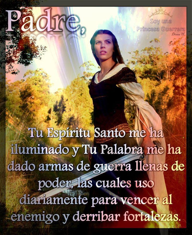 """Princesa Guerrera: """"Pero el Señor cuida de los que le temen, de los que esperan en su gran amor""""... Salmos 33:18 NVI  ღ✟"""