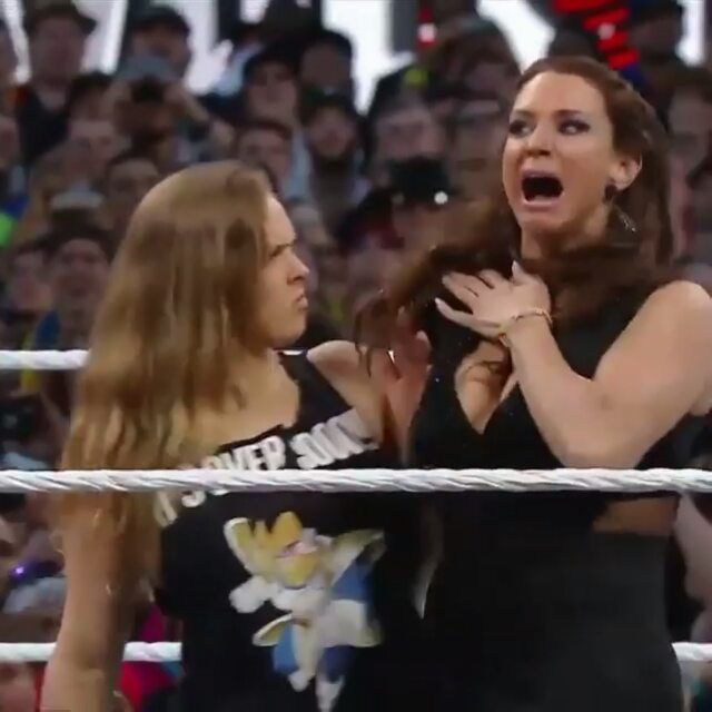Ronda as officially joined WWE and is set to make her debut at WrestleMania in a four battle between WWE's Four Horsewomen - Charlotte, Sasha Banks, Bayley and Becky Lynch and MMA's Four Horsewomen Ronda Rousey, Shayna Baszler, Jessamyn Duke and Marina Shafir #rondarousey #rowdyrondarousey #rousey #teamrousey #mma #ufc #wwe #wrestlemania #champion #legend