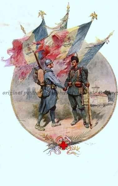 BU-F-01073-5-05361-3 Soldaţi sub semnul Crucii Roşii, -1917 (niv.Document)