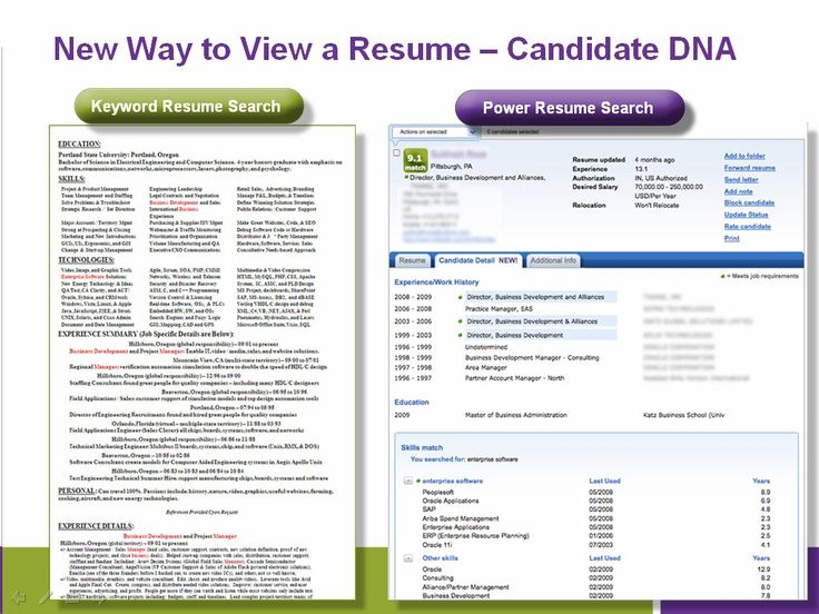 free resume search engines for employers