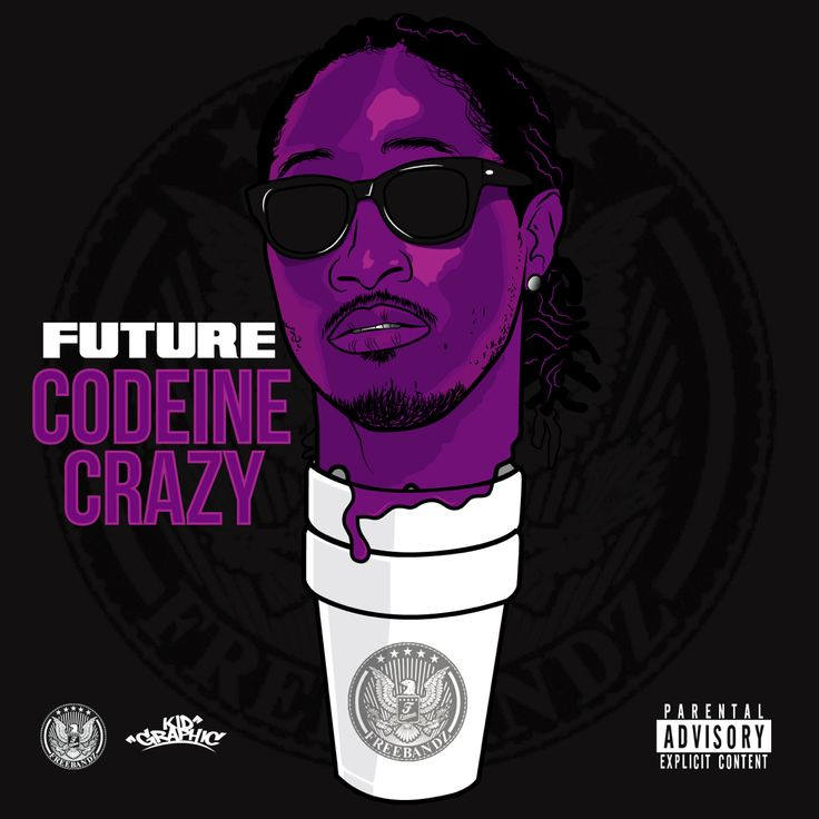 Codeine Wallpaper: CODEINE CRAZY/ Future Artwork By: @kidgraphic #Freebandz