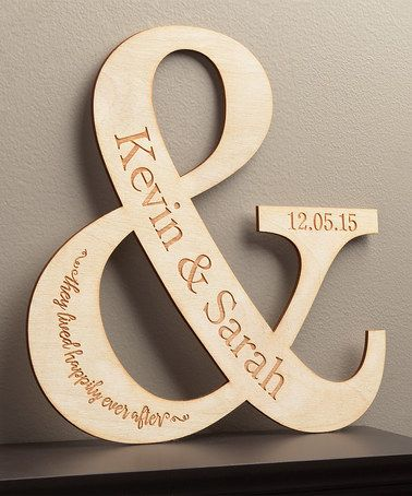 Look at this #zulilyfind! Happy Couple Personalized Wall Plaque #zulilyfinds