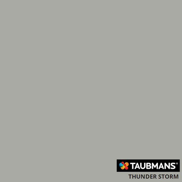 #Taubmans colour #thunder storm