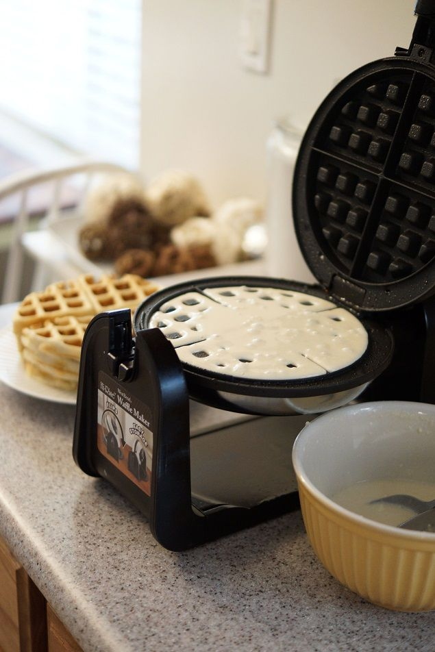 Homemade Waffle Batter...Recipe...