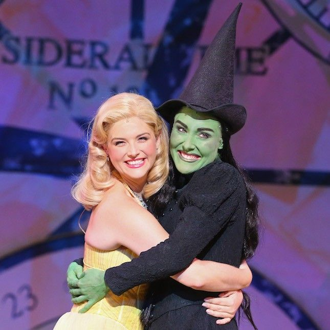 "during a ""WICKED"" production media call at the Regent Theatre on May 8, 2014 in Melbourne, Australia."