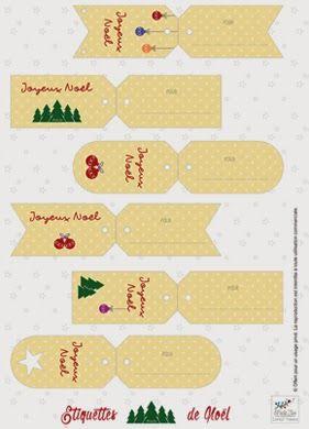 Mademoiselle Jen: Jolie carte de Noël pour cadeau attentionné