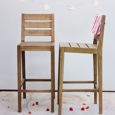 Very simple, driftwood finish, might match the dining room rustic picnic table! Cost range: $189.00-$389.00