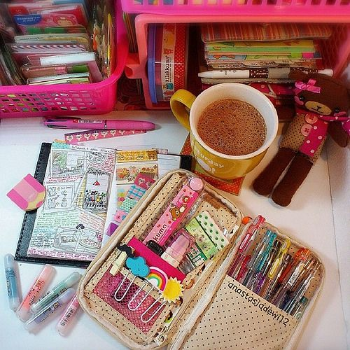 Diary Supplies