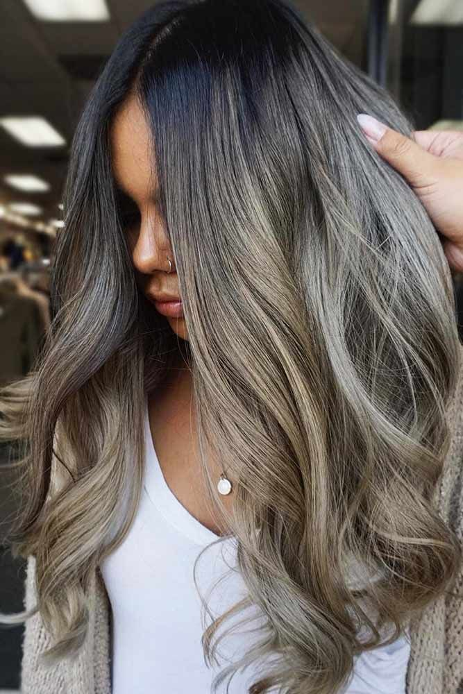 Sandy Ash Blonde #blondehair #brunette #balayage ★ Ash blonde hair color is designed for ladies who want to rock the lat…