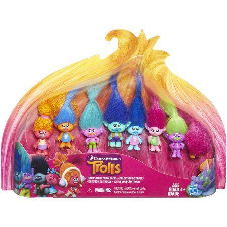 2016-Emilee 2016-Leila DreamWorks Trolls Troll Collection Pack - Walmart.com