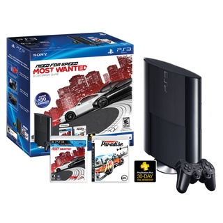 @Overstock - Brand: SONY  Model: 711719991335  Type: Playstation 3 Bundle  Processor Type: IBM Cell 3.2 GHz  Memory: Installed RAM256 MB XDR RAM  Hard Drive Size: 250 GB  Optical Drive ...http://www.overstock.com/Books-Movies-Music-Games/PS3-Sony-Playstation-3-250GB-Bundle-with-Need-for-Speed-Most-Wanted-Burnout-Pardise/7305889/product.html?CID=214117 $299.99