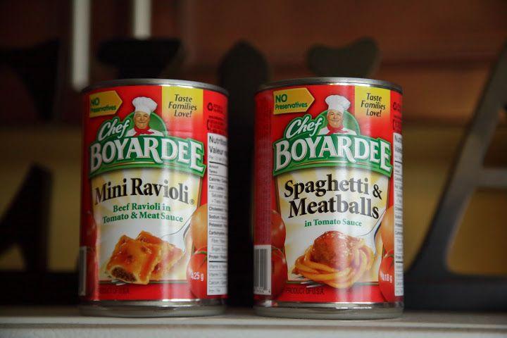 Mini Ravioli, Spaghetti Meatballs, Chef Boyardee - 104502761433208818575 - Picasa Web Album