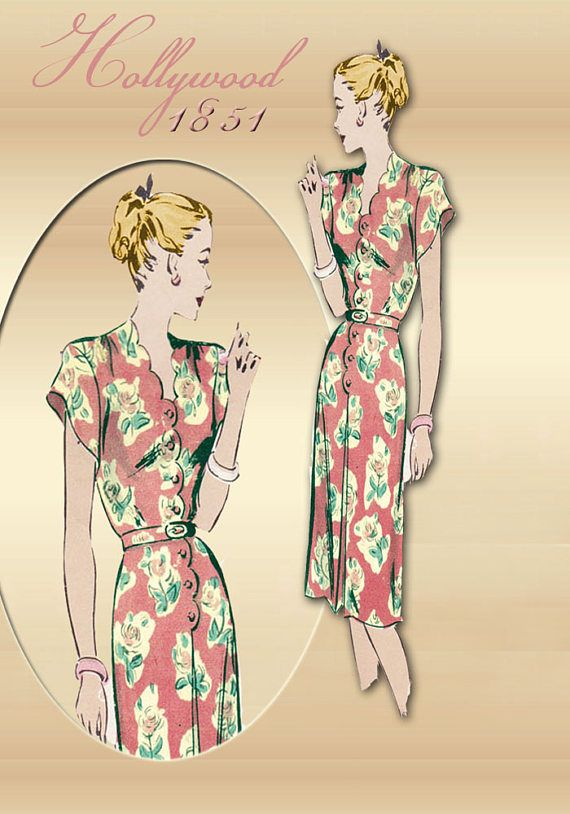 901 besten Mode 1940-1949 Jahren Bilder auf Pinterest | Vintage mode ...