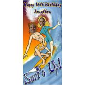 Personalized Surfboard Photo Stand In