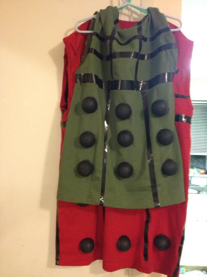 dalek costume tutorial --maybe for BW this year, unless I can find a better one