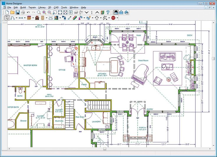The 25+ Best House Plans Drawing Software Ideas On Pinterest