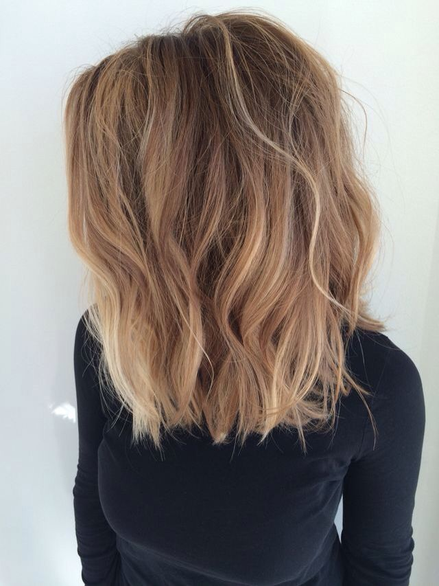 Brown Hair With Blonde Tips Pinterest